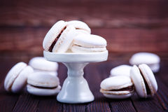 Macaroon. On a table, sweet , cookies on a table Stock Photo