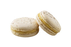 Macaroon white Royalty Free Stock Photos