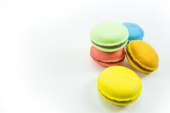 Macaroon on a white background. Macaroon on a white background Royalty Free Stock Photo