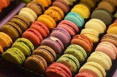Macaroons και γλυκά Στοκ Εικόνες