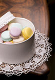 Macaroons пастельного цвета Стоковое Изображение RF