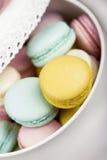 Macaroons пастельного цвета Стоковые Изображения RF