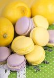 Macaroons пастельного цвета Стоковые Фото