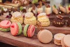 Macaroons французского печенья Стоковое фото RF