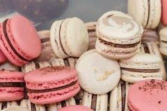 Macaroons французского печенья Стоковая Фотография RF