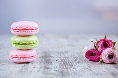 Free Macaroons Royalty Free Stock Photography - 50930067