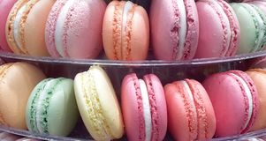Macaroons banner Stock Photos