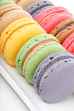 Macaroons closeup Royalty Free Stock Images