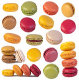 Macaroons collection royalty free stock images