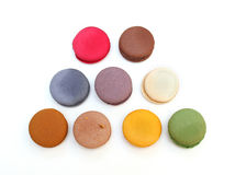 Macaroons colorful Stock Image