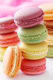Macaroons coloridos Imagens de Stock Royalty Free