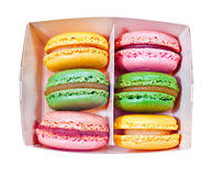 Macaroons coloridos Foto de Stock Royalty Free