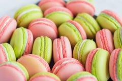 Macaroons coloridos Foto de Stock