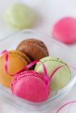 Macaroons coloridos Fotografia de Stock