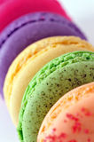 Macaroons. Colourful Macaroons, the delicious dessert stock photography
