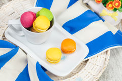 Macaroons cookies Royalty Free Stock Photography