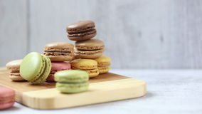 Macaroons stock video
