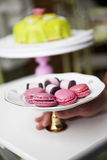 Macaroons and cookies Royalty Free Stock Photos