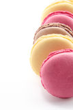Macaroons with copy space royalty free stock photo