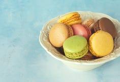 Macaroons dessert Royalty Free Stock Photography