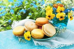 Macaroons dessert Royalty Free Stock Photography