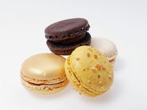 Macaroons. French pastry ready to be eaten Stock Images