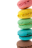 Macaroons at right Stock Image