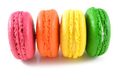 Macaroons Stock Photo
