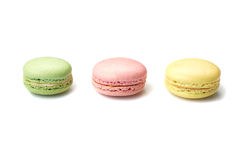 Macaroons on white Stock Image