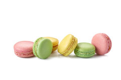 Macaroons on white Royalty Free Stock Image
