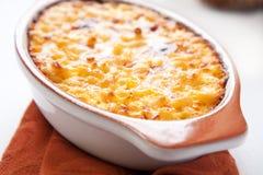 Macarrão e queijo imagem de stock