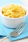 Macarrão e queijo Imagens de Stock Royalty Free