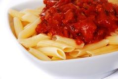 Macarrão italiano imagem de stock