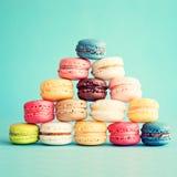 Macarrones coloridos fotos de archivo