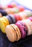 Macarrones coloridos fotografía de archivo libre de regalías