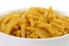 Macarrones con queso imagenes de archivo