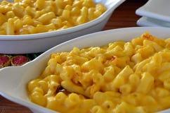 Macarrones con queso Foto de archivo