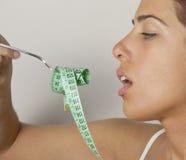Macarrones de la dieta Imagen de archivo libre de regalías