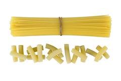Macarrones de las pastas Imagen de archivo libre de regalías