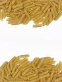 Macarrones. Pastas italianas. Fotos de archivo libres de regalías