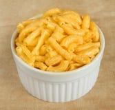 Macarrones y queso Fotografía de archivo libre de regalías