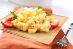 Macarrones y queso Fotos de archivo