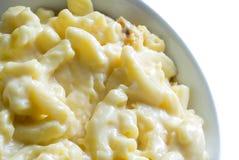Macarrones y queso Fotos de archivo libres de regalías