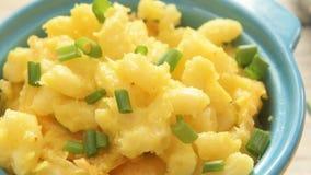Macarrones y queso cocidos al horno metrajes