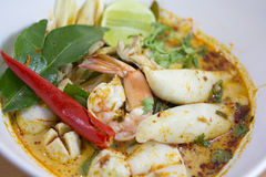 Macarronete de Tom Yum foto de stock royalty free