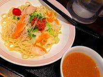 Macarronete do japonês dos Ramen Fotografia de Stock Royalty Free