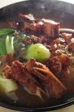 Macarronete do reforço de carne de porco Foto de Stock Royalty Free