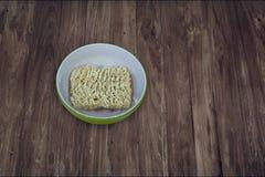 Macarronete imediato secado Foto de Stock
