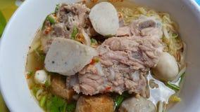 Macarronete picante tailandês Imagens de Stock Royalty Free