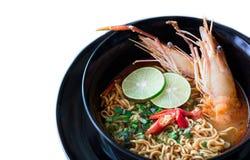 Macarronete picante tailandês Fotos de Stock
